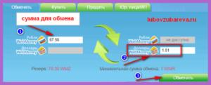 как обменять вебмани с долларов WMZ на рубли WMR Блог Любови Зубаревой 11