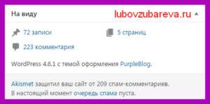 итоги работы сайта Блог Любови Зубаревой день рождение сайта
