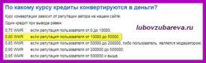 сайт большой вопрос реальные отзывы платит конвертация кредитов в рубли