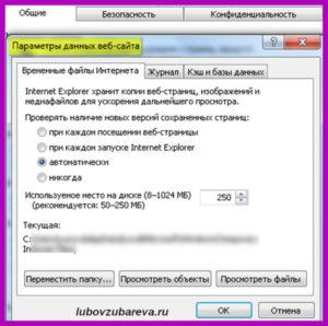 параметры вебстраницы браузер Internet Explorer: Эксплоурер