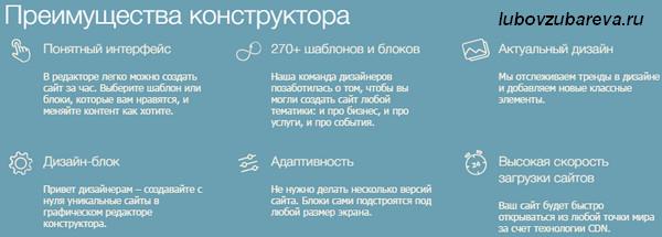Тарифы конструктора сайтов на хостинге Таймвэб